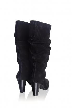 Toral   Hoge leren laarzen Ally   zwart