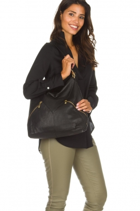 Depeche |  Shoulder bag Naomi | black