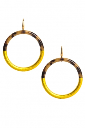 Miccy's | Oorbellen Medium Hoops | goud