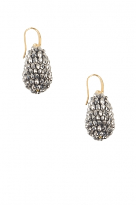 Miccy's |  Oorbellen Crystal Drops Small | silver