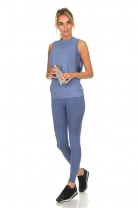 Varley | Sport bh met cut-out details Langley | blauw