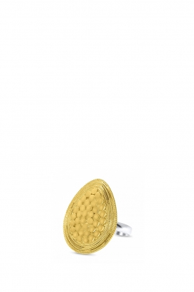 Close to Zen |  22k gold plated ring Dreamer | gold
