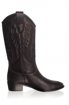 Toral |  Leather boots Jamy | black