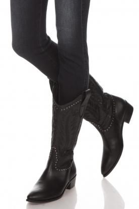 Toral | Leren laarzen Jamy | zwart