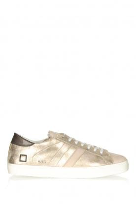 D.A.T.E |  Metallic sneakers Stardust | goud