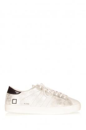 D.A.T.E | Metallic sneakers Stardust | zilver