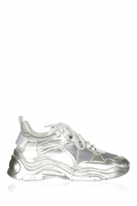 IRO | Metallic snakers Runner | silver