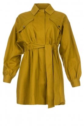 ba&sh |  Dress with belt Oden | green