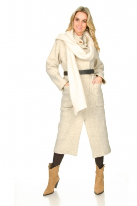 Look Belted wool coat Come