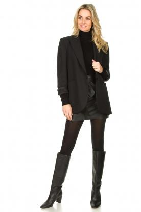 Look Leather skirt Feria