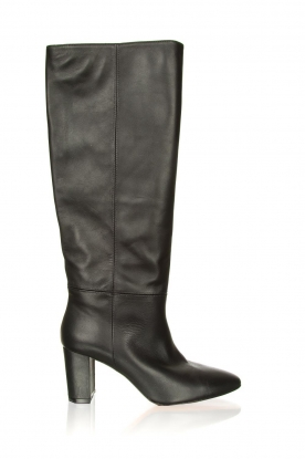 Toral | High leather boots Christy | black