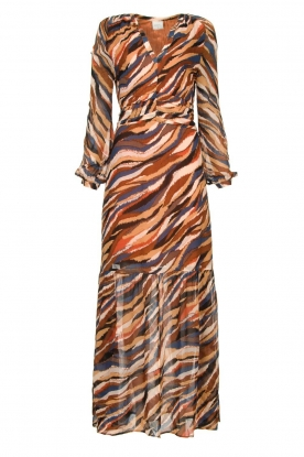 Dante 6 |  Printed maxi dress Carmine | multi