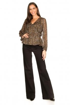 Look Lurex blouse Rebecca