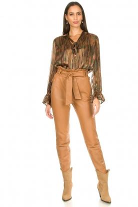 Look Luxe print blouse Maiden