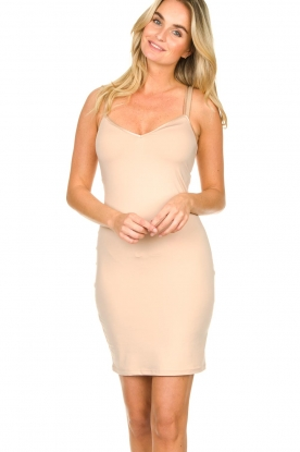 Dante 6 |  Slip dress Blain | nude