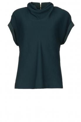 Dante 6 |  Top with draped collar Mason | green