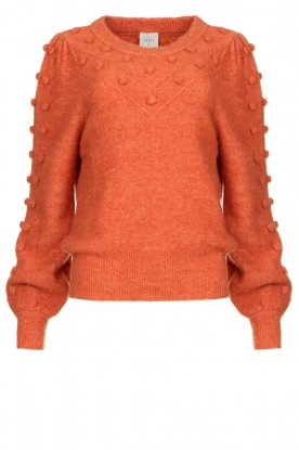 Dante 6 |  Sweater with balloon sleeves Elomi | red
