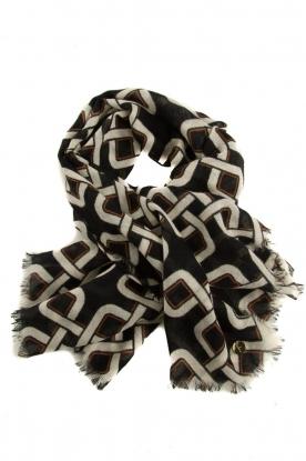 Dante 6 | Chain scarf Azou | black