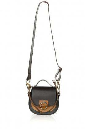 Dante 6 |  Leather shoulder bag Noussa | black