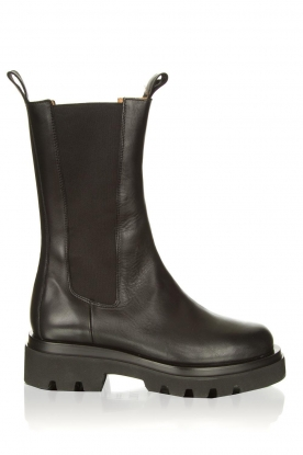 Toral |  Leather boots Kiki | black