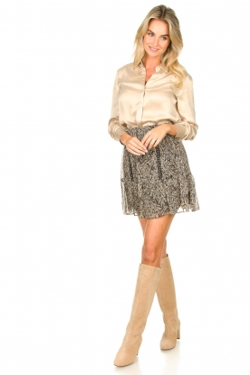 Look Skirt with silver studs Selin