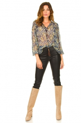 Look Printed blouse Isaya