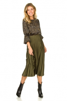 Look Blouse with balloon sleeves Tayana
