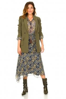 Look Midi skirt with print Caya