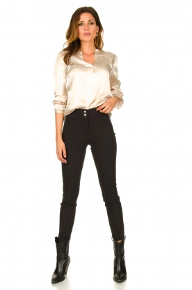 Look Satin blouse Valera