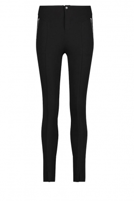 Aaiko |  Tights with zippers Tamara | black