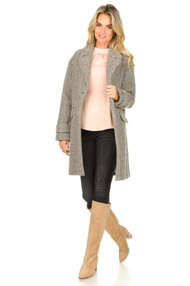 Look Top with puff sleeves Misty