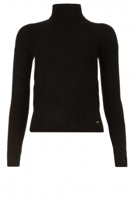 Fracomina | Turtleneck sweater Ezra | black