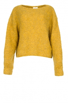 American Vintage |Knitted sweater Tudbury | yellow