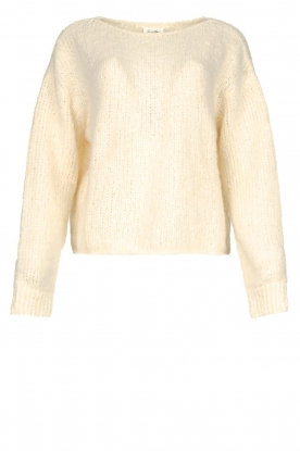 American Vintage |Knitted sweater Tudbury | natural