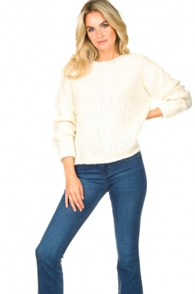 American Vintage | Knitted sweater Tudbury | natural