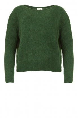 American Vintage | Kid mohair sweater Zabido | green