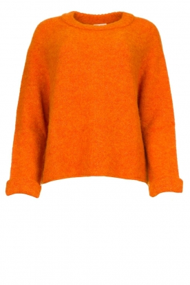 American Vintage |  Soft sweater East | orange