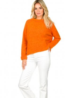American Vintage |  Soft sweater East | orange