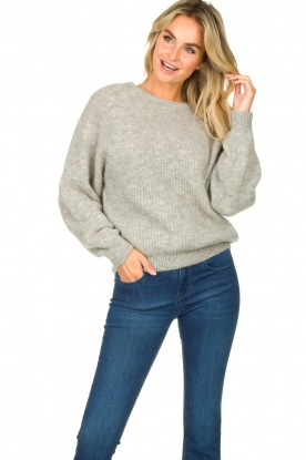 American Vintage | Oversized sweater East | grey
