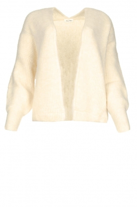 American Vintage | Short knitted cardigan East | natural