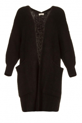 American Vintage | Long knitted cardigan East | black