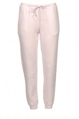 American Vintage | Zachte sweatpants Fobye | roze