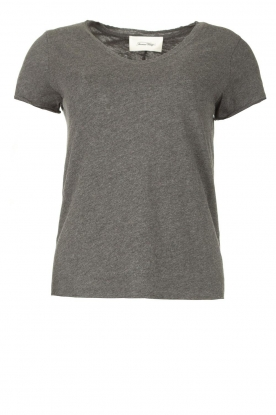 American Vintage | Basic V-neck T-shirt Sonoma | grey