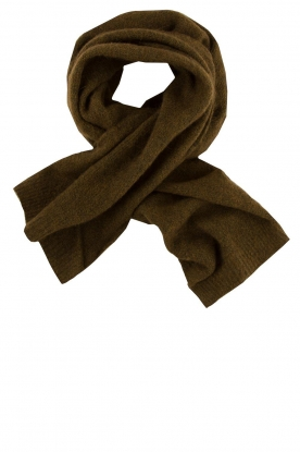 American Vintage | Knitted scarf East | green