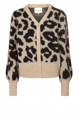 Lolly's Laundry | Leopard cardigan Laura | animal print