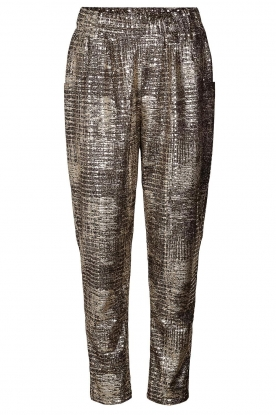 Lolly's Laundry |  Lurex pants Gonna | metallic
