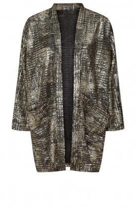 Lolly's Laundry |  Lurex kimono Kimmi | metallic