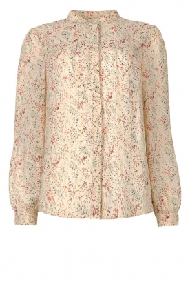 JC Sophie | Floral blouse Felisha | naturel