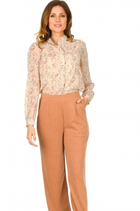 JC Sophie    Floral blouse Felisha   naturel