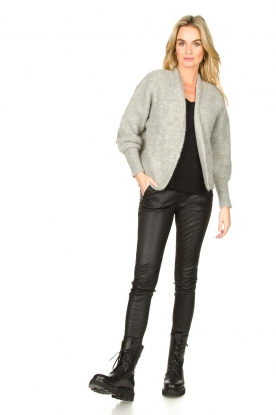 Look Short knitted cardigan East